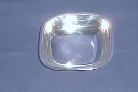Arthur Stone Hand Made Sterling Silver Dish