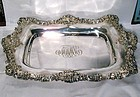 Antique Black Starr and Frost Sterling Tray