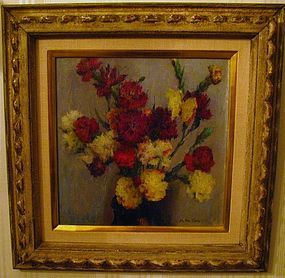 Walter Vaes Still Life with Carnations