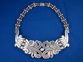 HECTOR AGUILAR NECKLACE STERLING SILVER MAGUEY