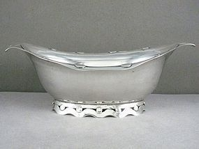 "WILLIAM SPRATLING  BOWL STERLING SILVER 7"" LONG"