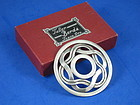 """HECTOR AGUILAR STERLING SILVER PIN / BROOCH  2 1/2""""W."""