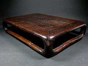 A Wooden Stand in Decent look
