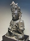A Bronze Statue of Ming Dynasty,14th/15th C.