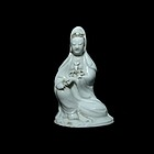 A De-Hua Porcelain Guanyin of Qing (18th Century)
