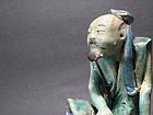 An Old Shi-Wan Figure of A Confucian Scholar