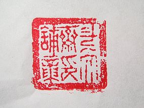 An Interesting Stamp Store's Seal