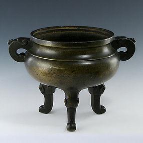 A Decent Bronze Censer of 16th/17th Century