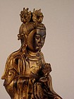A Splendid Bronze Deity of Qing Dynasty
