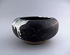A Black-Glazed Water Pot of Tang Dynasty(AD618-907)