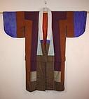 Meiji silk yosegire Patchwork imono textile