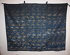 Japanese Edo kinran-Nishijin textile obi uchishiki