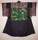 Edo genroku yuzen dounuki-yosegire-jyuban Rare