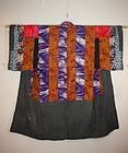 edo nishimonai yosegire Patchwork katazome kimono