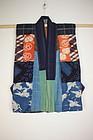 Edo itagime shibori katazome yosegire hanjyuban