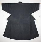 Japanese meiji mikuni-sashiko Indigo dye noragi
