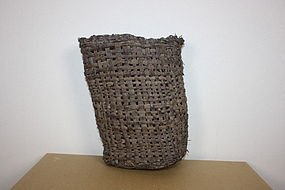 "Japanese ""mingei ""antique Basket of the grapevine"