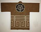 Meiji cotton tsutsugaki shirushi-hanten coat textile
