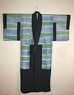 Japanese taisyo silk dangawari jyuban kimono textile