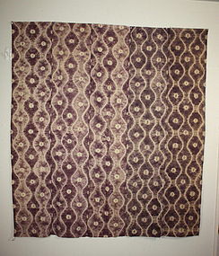 meiji nanbu-shikon dye shibori futon cover textile