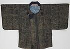 Edo Samurai Douchuu-gi coat Lacquering  Katazome