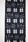 Japanese  antique  Indigo dye kasuri cotton  of hand-spun meiji
