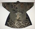 Edo Antique fireman's sashiko tsutsugaki hanten coat