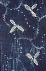 Edo Indigo Asamai-sibori. Cotton Hand-spun Slightly thick Rare