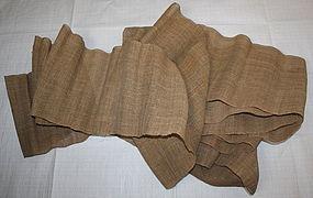 Edo Hemp Cloth Hand-spun Thick.