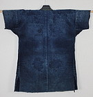 Meiji Indigo Cotton Sashiko Shounai Boro Noragi Work clothes