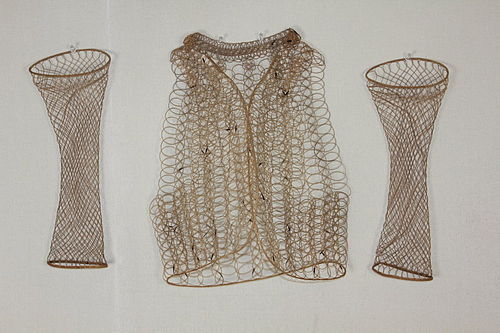Meiji Bamboo Underwear Vest type Asehajiki Scholar of Buddhism.