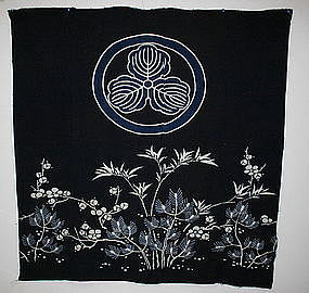 Japanese Antique  Tsutsugaki Textile futon cover