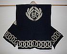 Edo period Indigo dye samurai's battle surcoat