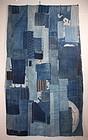 Japanese meiji boro futon cover Wonderful textile