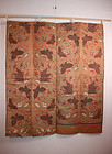Edo kakeshita-obi  uchishiki textile