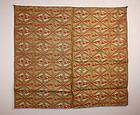 Edo Noh-Costume karaori uchishiki nishijin textile