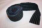 Meiji Indigo dye sakiori obi textile