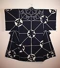 Edo mikkyo Esoteric buddhis tsutsugaki  indigo  kimono