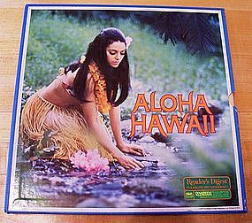 Aloha Hawaii 6-record set by RCA/Reader's Digest '78