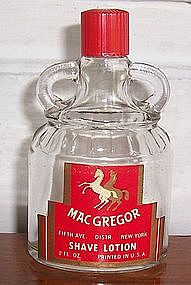 MacGregor Shave Lotion Bottle