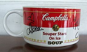 Campbell's Souper Stars on Ice Soup Mugs