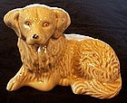 Ceramic Yellow Labrador or Golden Retriever Dog, Brazil
