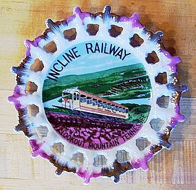Souvenir Plate Incline Railway, Lookout Mountain TN