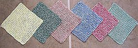 Crocheted Dish Cloths - Handmade