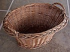 Vintage Child's Play Wicker Laundry Basket