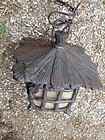 Japan antique garden bronze lantern