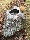 Japan stunning stone water basin place indoors or outdoors