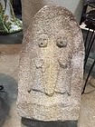 Japan ancient stone Dosojin Double Jizo
