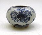 Ming Blue And White Small Washer Jar