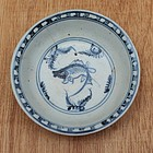 Ming Blue and White Small Bowl With Fish Motive